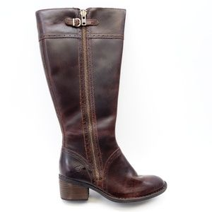 New Born Poly Wide Calf Boots in Grand Canyon